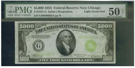 5000 dolares