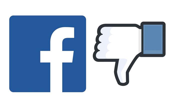 Darse de baja facebook