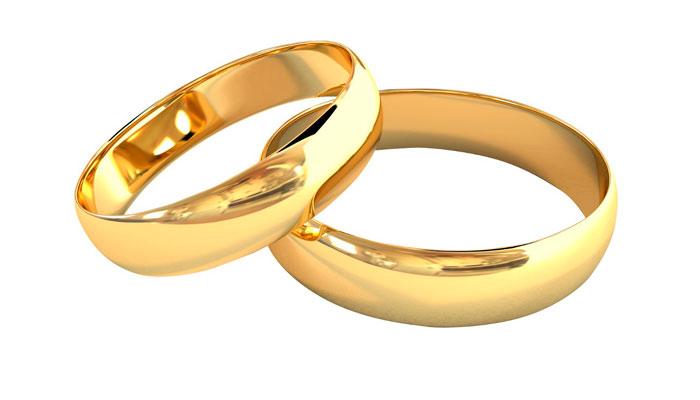 Anillos de boda y alianzas de matrimonio - Anillo de casado mano ...