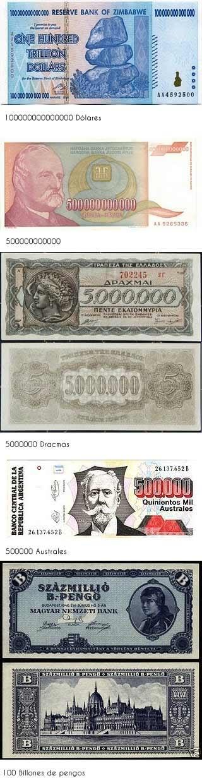 billetes caros