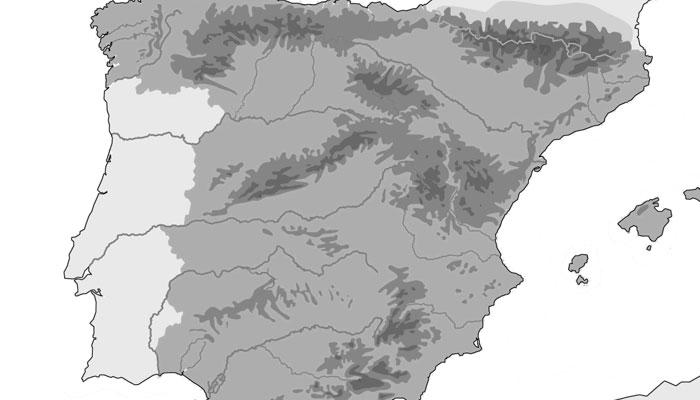 Mapas mudos en PDF para imprimir  Xeducedcom
