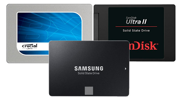 Discos duros SSD de 250GB más vendidos