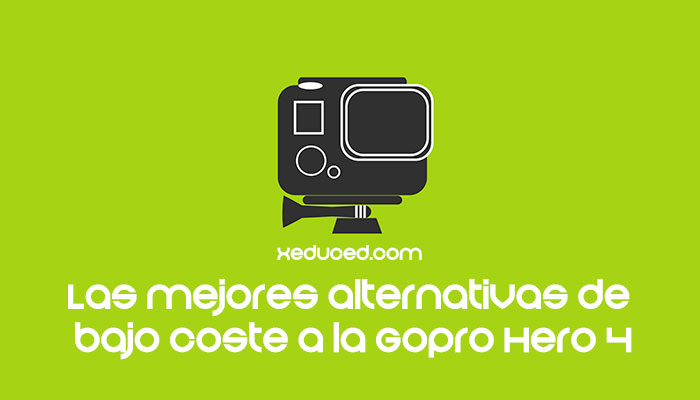 Alternativas baratas de la Gopro Hero 4