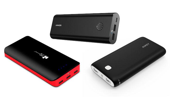 Baterías externas portátiles