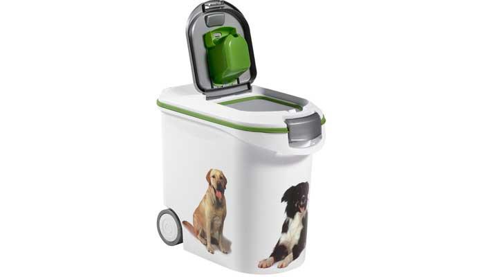 Contenedor comida para perro