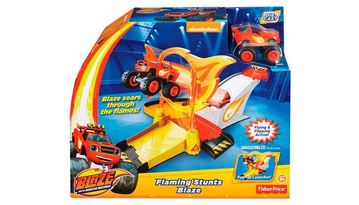 Aro de fuego Blaze y los Monstermachines