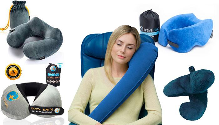 Mejor almohada cervical de viaje
