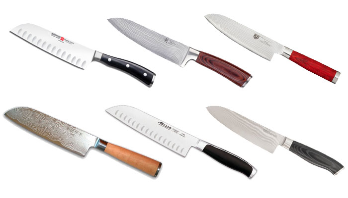 Mejores cuchillos Santoku