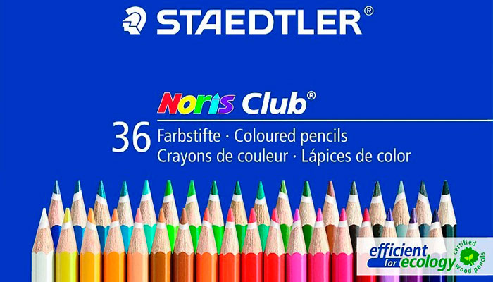 Lápices de colores staedtler noris club 144 para Mandalas