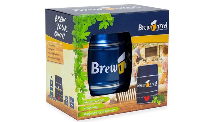 kit para elaborar cerveza casera BrewBarrel