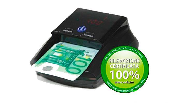 Detectalia D150 detector de billetes falsos