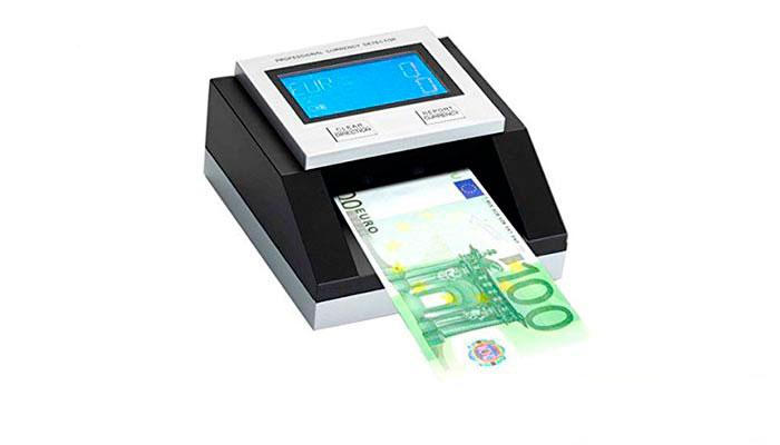 EC 350-EURO detector de billetes falsos