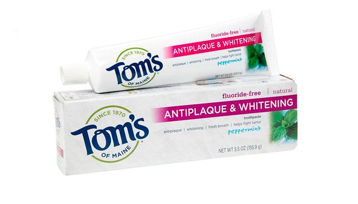 Toms Of Maine pasta de dientes blanqueadora