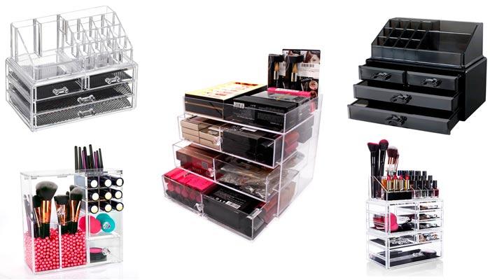 Mejores organizadores de maquillaje